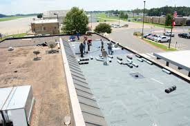 flat roof installation repair commercial flat roof contractor longview tx