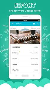 text free apk hifont cool font text free for lenovo k6 power free