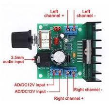 drok tda7297 mini digital lifier stereo audio li electro 12