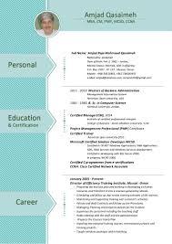 Sample Resume For Ccna Certified Amjad Cv 2017