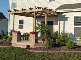 Pergola And Decking Designs by Deck And Pergola