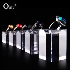 acrylic crystal ring holder images Oirlv high transparency acrylic ring holder stand for ring display jpg
