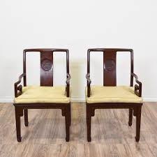 Unique Accent Chairs by This Pair Of Chinese Captains Chairs Are Featured In A Solid Wood