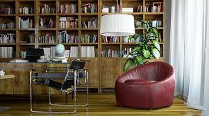 plain office library design home ideas decoist intended decorating decorating office library design