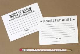 Marriage Advice Cards For Wedding Fun Wedding Ideas For 2015 Part 2 India U0027s Wedding Blog