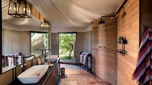 Safari Bathroom Ideas Andbeyond Nxabega Okavango Tented Camp Botswana Safari