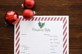 gift list christmas gift list printable ashlee proffitt
