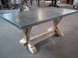 zinc table tops for sale zinc table top indestructible for kids home pinterest zinc