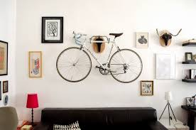 Living Room Bike Rack by Andreas Scheiger