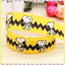 snoopy ribbon ribbon peanuts brown snoopy by embellishbyandrea