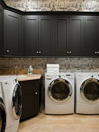 small laundry room decor over washing machine storage laundry room
