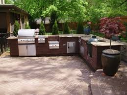 outdoor cooking spaces kitchen ideas outdoor bbq kitchen ideas bbq island outdoor