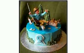 fisherman cake topper fishing cake decorations chocaric