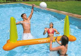 Intex Inflatable Swimming Pool Pool Volleyball Game Intex