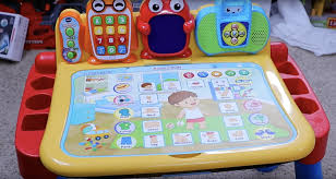 vtech write and learn desk vtech touch and learn activity desk review very interactive