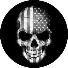 Black White Black Flag Distorted American Flag Black And White Clipart Collection
