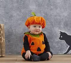 Baby Boy Halloween Costume Baby Pumpkin Costume Pottery Barn Kids