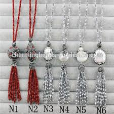 charm necklace wholesale images Ch jbn0105 pave crystal pearl bead pendant necklace fashion glass jpg