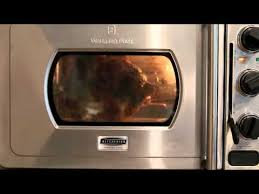Wolfgang Puck Toaster Making Rotisserie Chicken In Wolfgang Puck Pressure Oven Youtube