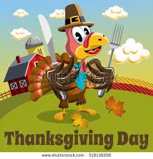 thanksgiving day background square pilgrim turkey stock vector