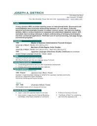 Making The Perfect Resume Resume Perfect Resume Template Word Sample For Students With No
