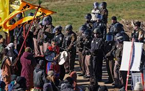 North Dakota where to travel in october images Militarized police are cracking down on dakota access pipeline jpg