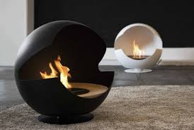 modern portable fireplace indoor electric