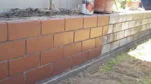 Best Colors For Painting Outdoor Brick Walls by Deckover Concrete Block Wall Before And After Comparison Youtube