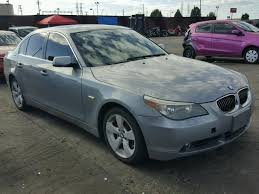 bmw 525xi 2007 bmw 525xi for sale ca salvage cars copart usa