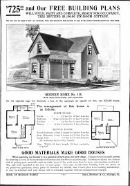 modern home no 115 sears roebuck co vintage house plans
