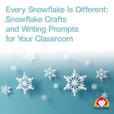 every snowflake is different snowflake crafts and writing prompts for your classroom jpg