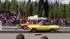 1975 opel manta edps emmaboda 2015 hampus hansson i sin gula opel manta från 1975