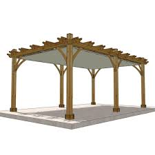 Pergola Kits Cedar by Outdoor Living Today Breeze Cedar 12 Ft X 20 Ft Pergola With