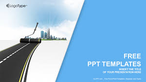Road Powerpoint Template road ppt template free mvap us
