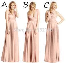 bridesmaid dresses 100 inexpensive v neck tank halter floor length blush