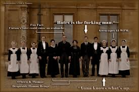 Downton Abbey Meme - downton abbey staff breakdown forever within the numbered pages