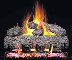 vented gas logs for fireplaces