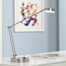 Clip On Desk Lamp Canada Brushed Steel Desk Lamps Lamps Plus