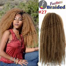 crochet marley hair 18inch 100g synthetic braiding hair marley braid twists
