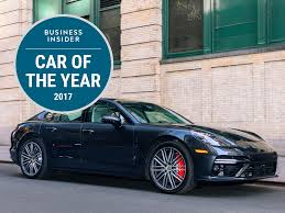 porsche car 2017 porsche panamera is business insider 2017 car of the year
