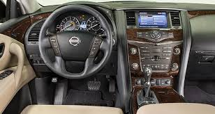 2017 nissan armada platinum interior 2017 nissan armada handles like a boat with a very retro feel