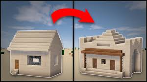 minecraft how to remodel a desert village library youtube