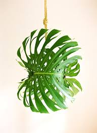 tropical pendant light fixtures with giant diy leaf once wed and 12 on 513x700 lighting 513x700px