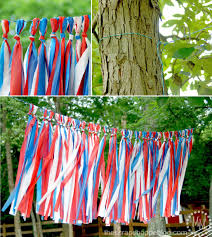 create a fun and inviting atmosphere outdoors for your july 4th