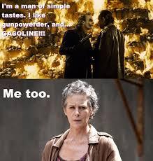 Walking Dead Memes Season 5 - carol and joker relate the walking dead know your meme