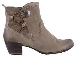 buy boots trendy black color leather boots tamaris tamaris s 26450 ankle boots black 001 s shoes low