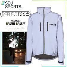 reflective bike jacket proviz reflect360 hi viz reflective cycling running jacket