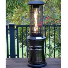 Living Flame Patio Heater by Lifestyle Santorini Flame 10kw Gas Patio Heater Garden Street