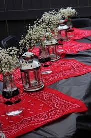 party centerpieces cowboy table decorations ideas 5 western party centerpieces on