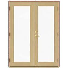 Wood Patio Doors Wood Patio Doors Exterior Doors The Home Depot